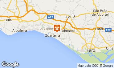 Map Quarteira Villa 90228