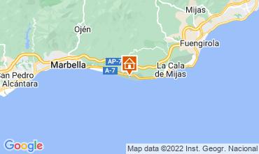 Map Marbella Studio apartment 101965