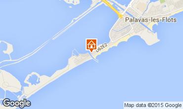 Map Palavas-les-Flots Flat 43080