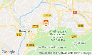 Map Saint Rémy de Provence Self-catering property 118685