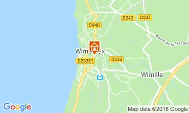 Map Wimereux Apartment 116258