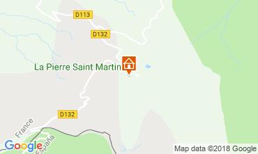 Map Arette La Pierre Saint Martin Apartment 3958
