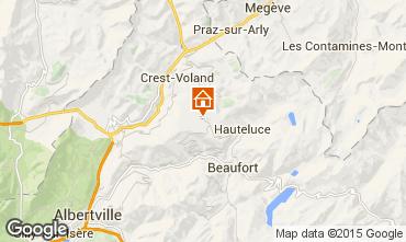 Map Les Saisies Apartment 29243