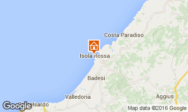Map Isola Rossa Studio apartment 55748