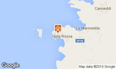 Map Isola Rossa Studio apartment 55748