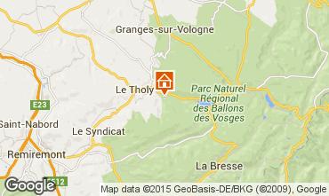 Map Gérardmer Chalet 4571