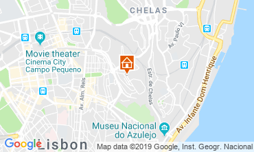 Map Lisbon Apartment 116868