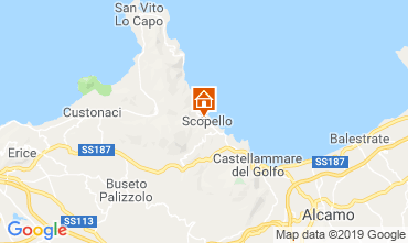 Map Scopello Villa 66027