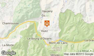 Map Alpe d'Huez Studio apartment 96346