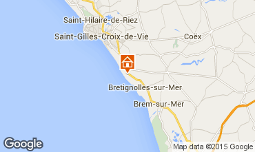 Map Bretignolles sur mer House 21946