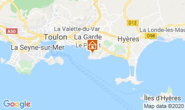 Map Le Pradet House 111738