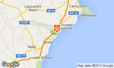 Map Avola Villa 94530