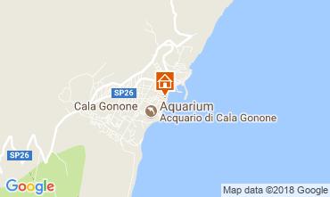 Map Cala Gonone Apartment 77886