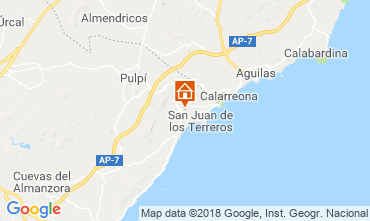 Map San Juan de los Terreros Apartment 116601