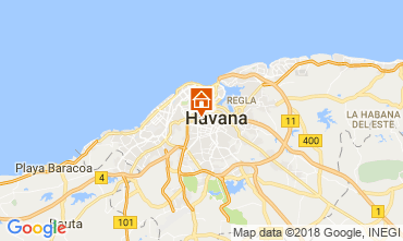 Map Havana B&B 113566