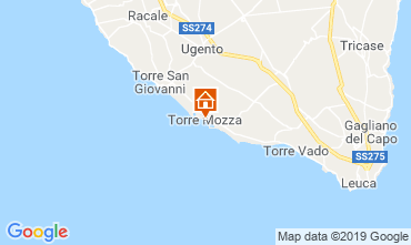 Map Ugento - Torre San Giovanni Apartment 118802