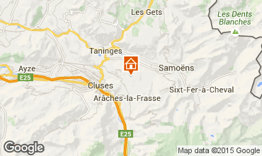 Map Morillon Grand Massif Apartment 80716