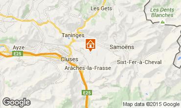 Map Morillon Grand Massif Apartment 80716