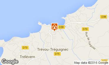 Map Trevou Treguignec Flat 102753