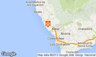 Map Adeje Apartment 71383