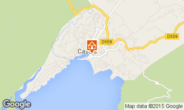 Map Cassis Flat 93144