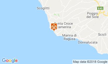 Map Punta Secca Villa 87513