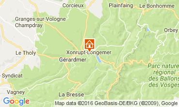Map Xonrupt Longemer Apartment 74501