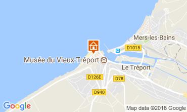 Map Le Tréport Apartment 108744