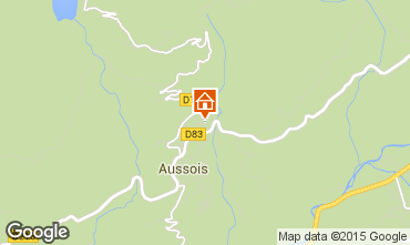 Map Aussois Self-catering property 58490
