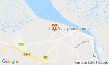 Map Saint Valéry sur Somme House 117612