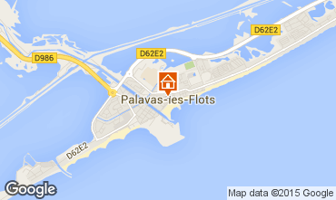 Map Palavas-les-Flots Flat 97909