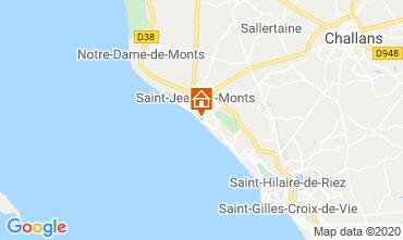 Map Saint Hilaire de Riez Apartment 69125