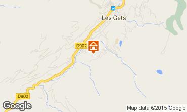 Map Les Gets Chalet 1357