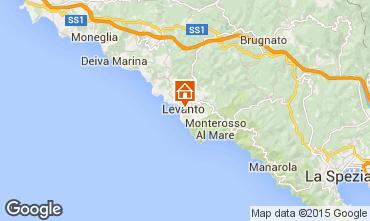 Map Levanto Apartment 75506