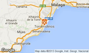 Map Torremolinos Studio apartment 45979