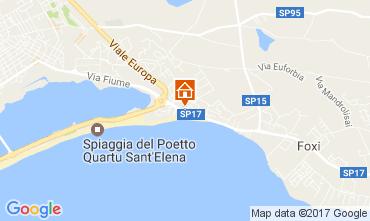 Map Quartu Sant'Elena House 108012