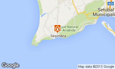 Map Sesimbra Apartment 77208