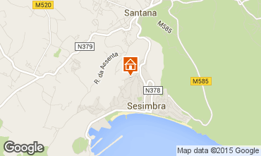 Map Sesimbra Apartment 77208