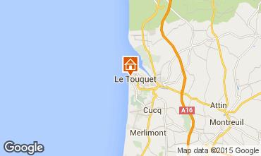 Map Le Touquet Apartment 88424