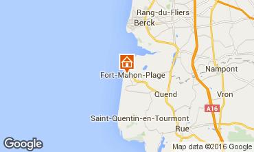 Map Fort Mahon Apartment 10878