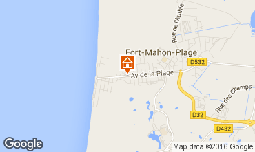 Map Fort Mahon Apartment 10878