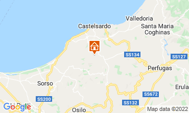 Map Castelsardo House 86630