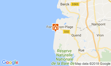 Map Quend Plage Mobile home 107542