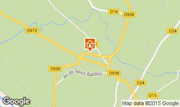 Map Cavaillon Apartment 98672
