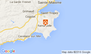 Map Ramatuelle Self-catering property 104481