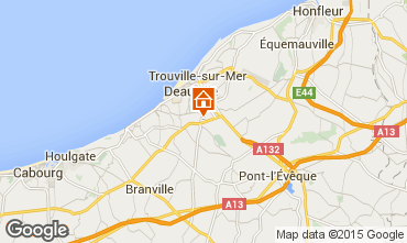 Map Deauville Mobile home 63650