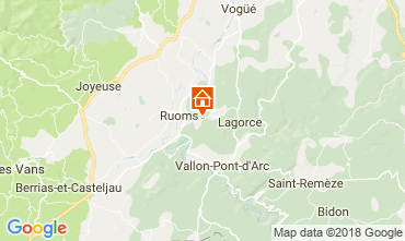 Map Lagorce Mobile home 114690