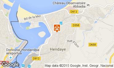 Hendaye France Map.Hendaye Holiday Rentals