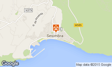 Map Sesimbra Apartment 96739