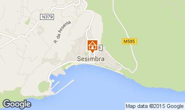 Map Sesimbra Apartment 96739